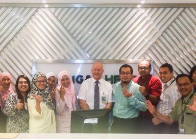 Training in Kuala Lumpur