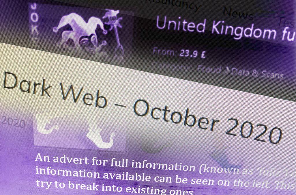 Fraud on the Dark Web – October 2020